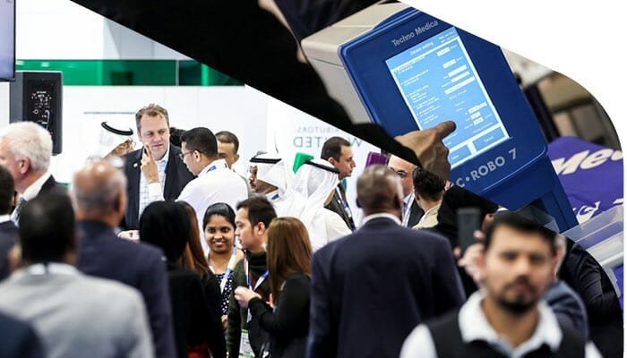 Apacor at MedLab in February 2022 in the Middle East